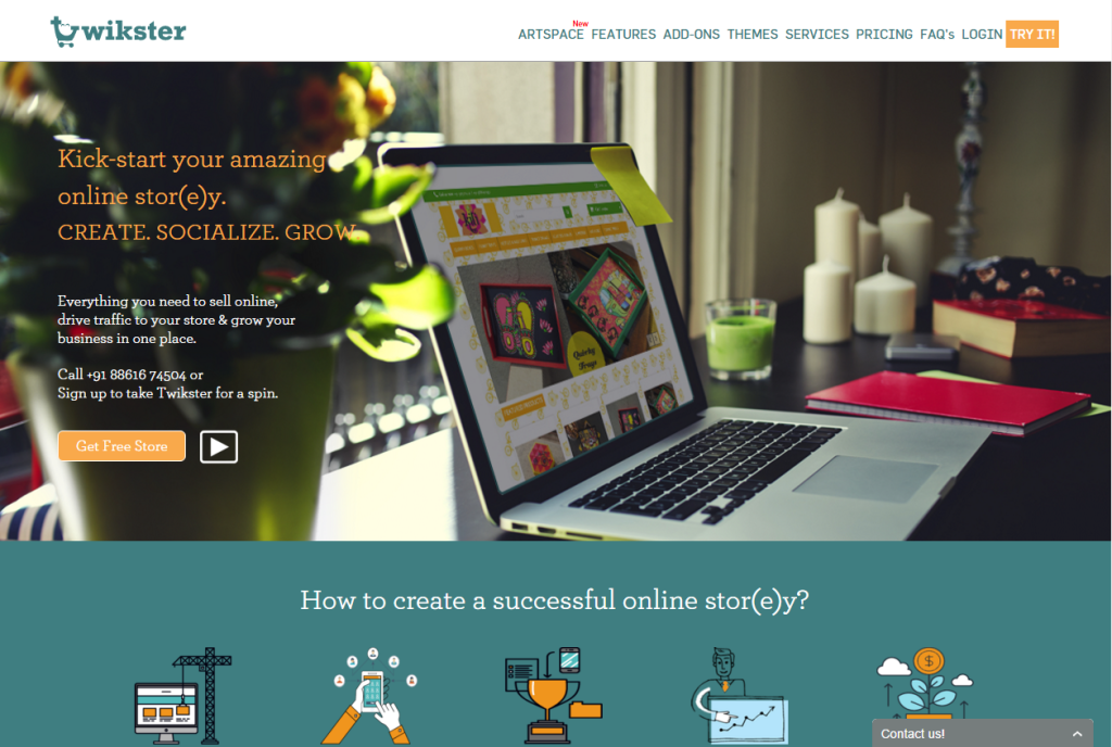 Twikster Create an eCommerce Store Review