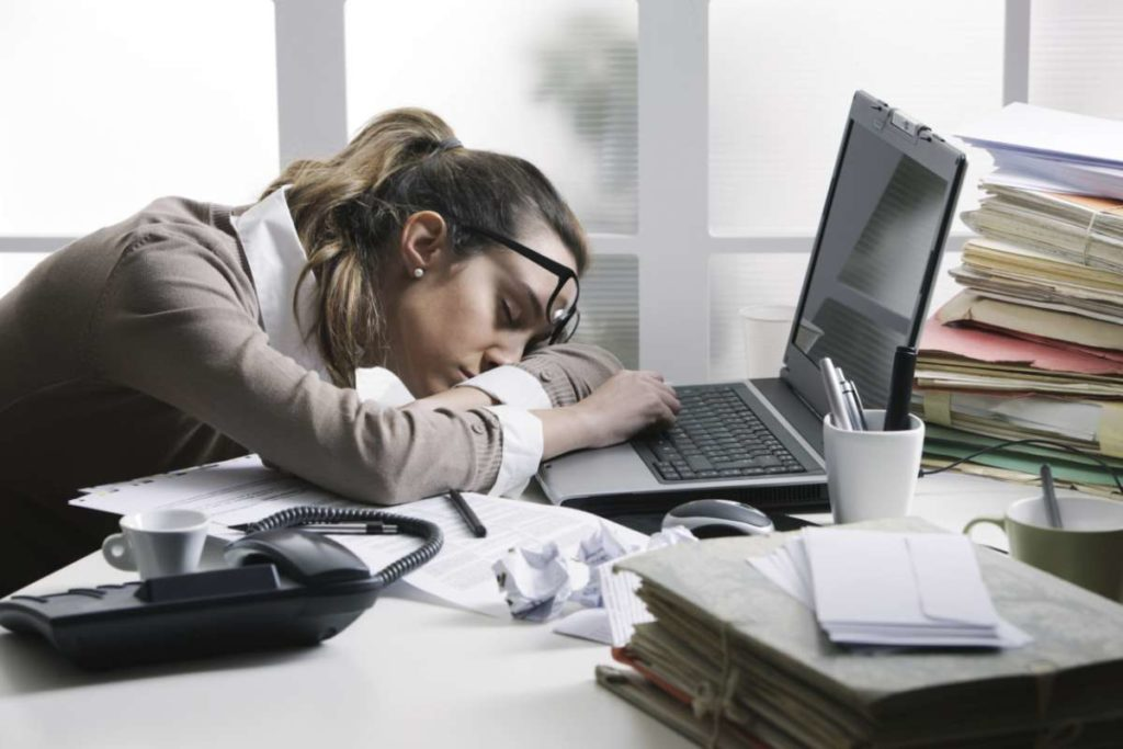 Office Working Lady